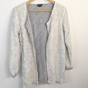 Topshop faux fur sweater